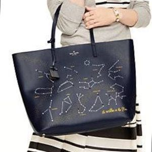 Kate Spade Written in the Stars Constellation Tote